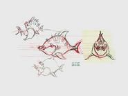 Lurker shark concept art