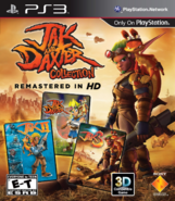 Jak and Daxter Collection front cover (PS3) (US)