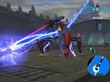 Destroy incoming blast bots