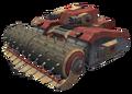 Security tank render