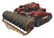 Security tank render
