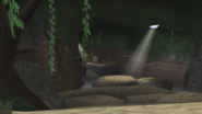 Brink Island cave screen