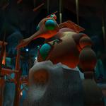 Precursor robot in Spider Cave.png