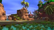 Farmer's farm screen
