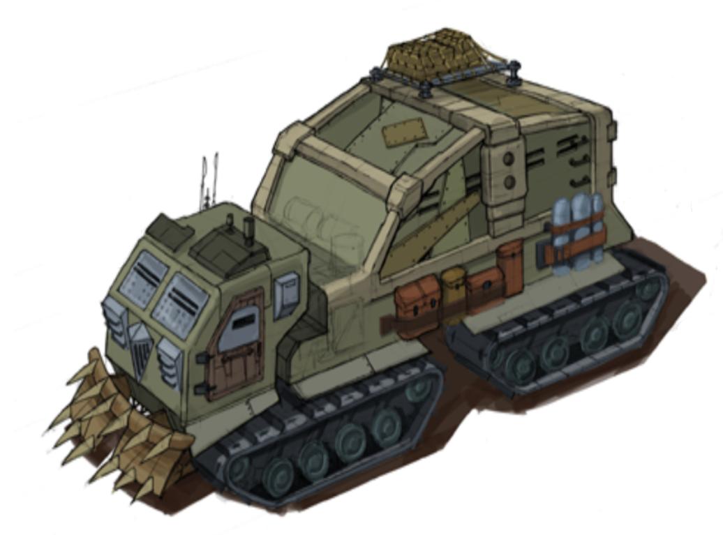 Wasteland transport