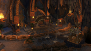 Wasteland Palace interior screen