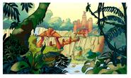 Forbidden Jungle concept art