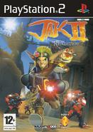 Jak II front cover (EU)