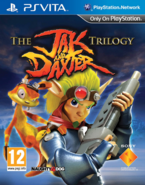 Jak and Daxter Collection front cover (Vita) (EU)