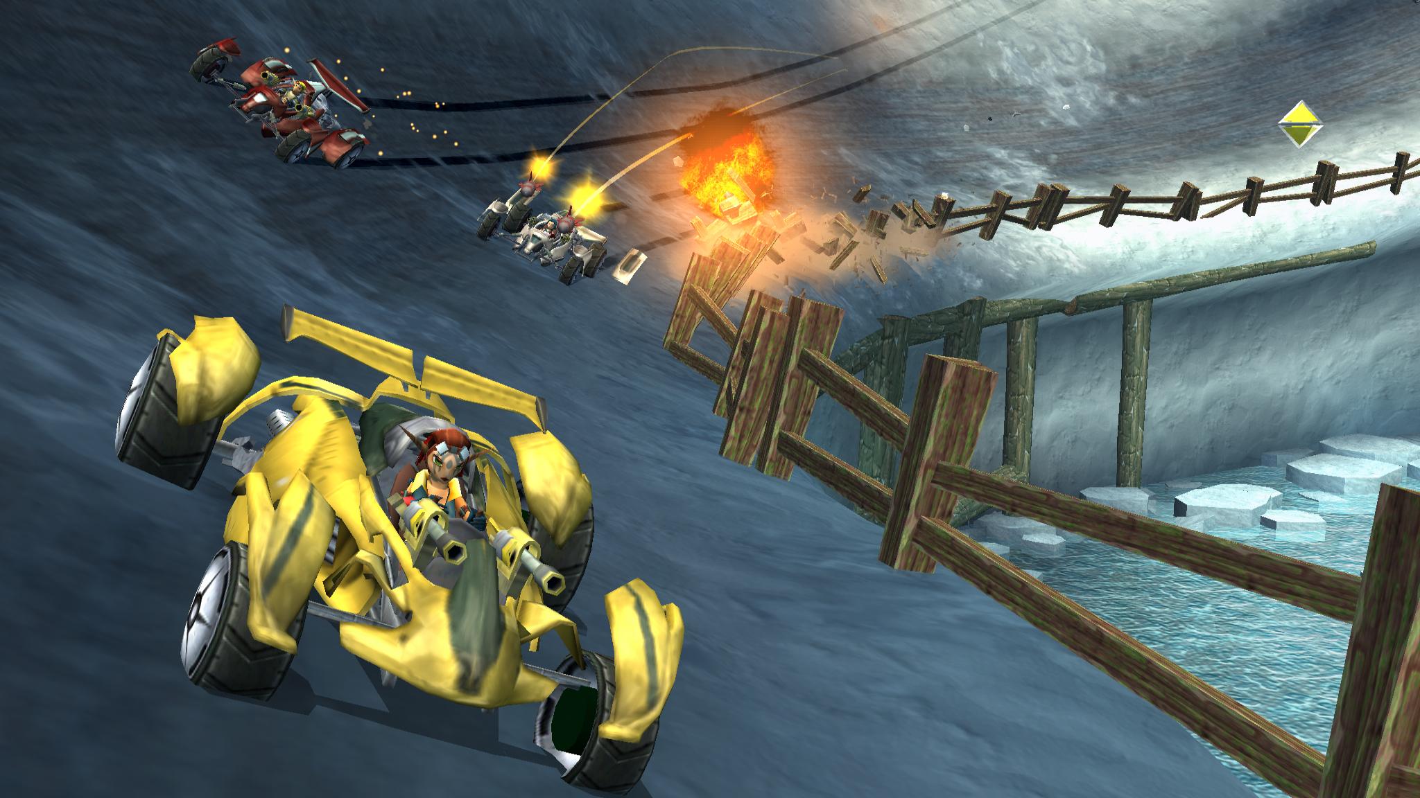 Combat racing