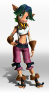 Keira from TPL promo render