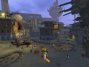 Slums at day from Jak II