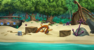Shipwreck Beach-background