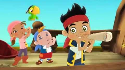 Jake and the Never Land Pirates Goodbye Crew Music Video Disney Junior Asia