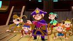 King Zongo&crew-The Monkey Pirate King01