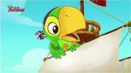 Flying Skully to tell Captain Jake - Attack of the Pirate Piranhas