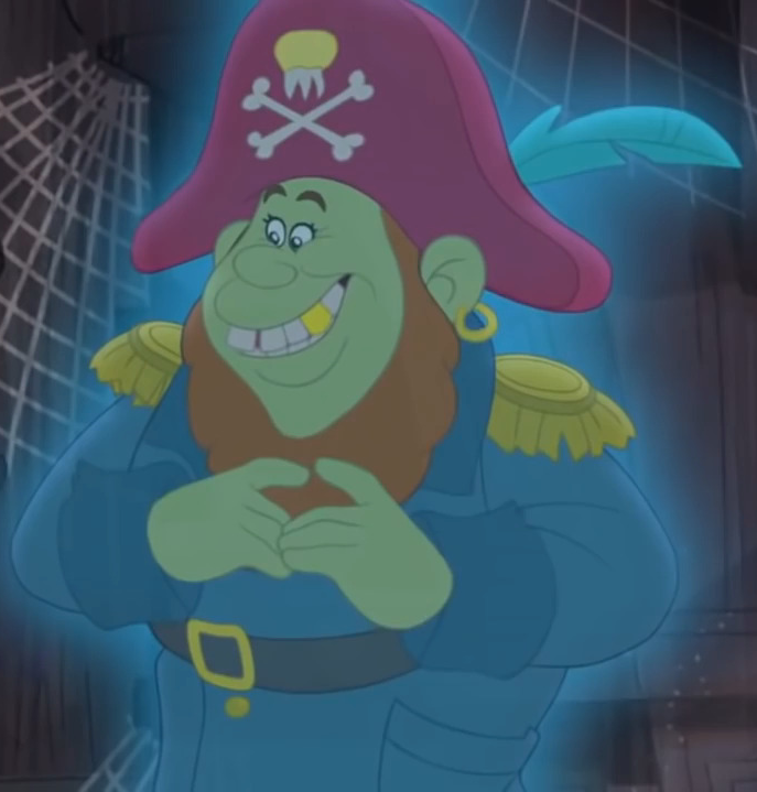 Captain Treasure Tooth Jake And The Never Land Pirates Wiki Fandom
