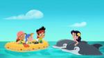 Jake&crew with Marina-Undersea Bucky!