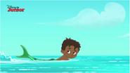 Swimming Fin the Mer-Boy - Attack of the Pirate Piranhas