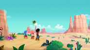Jake and the Crew in the Desert