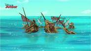 The Sunken Ship Gorge - Attack of the Pirate Piranhas