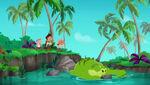 Crocodile Creek-Jake's Never Land Pirate School