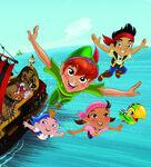 Peter Pan Returns cover art