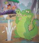 Geyser Gulch-X Marks the Croc!