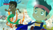Undersea Jake and Fin the Mer-Boy - Attack of the Pirate Piranhas