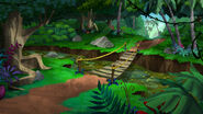 Tar pit Never Land Jungle