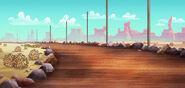Never Land Desert-background