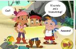 Jake&crew-Jake's Treasure Hunt game