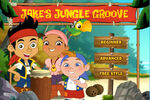 Jake's Jungle Groove Game title