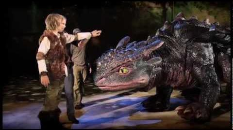 Sneak Peek How To Train Your Dragon Live Spectacular Pt.2