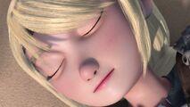 A still asleep Astrid