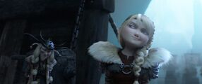 Astrid after Eret's big save