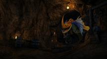 Garff w jaskini