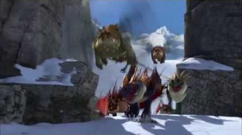 How to Train Your Dragon - Dragon-Viking Games Snowboarding (extended version)