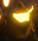 Ogień Płetwogrzbieta