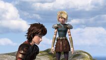 Hiccup not knowing what to do