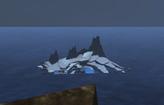 Icestorm Island widziane z Wilderness