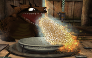 Ogień Sand Wraith