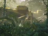 Bulldozer de la RDA