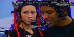 Laz Alonso Alicia Vela-Bailey filmando Iknimaya.jpg