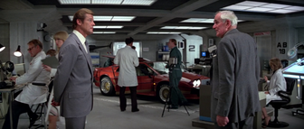 For Your Eyes Only - Bond's second Lotus in Q-Branch