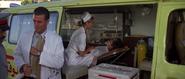 Kara en tant qu'infirmière