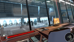 Drax's launch site globe labs (007 Legends)