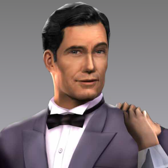 James Bond (Andrew Bicknell)