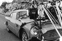 DB5 filming in GoldenEye