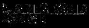 James Bond Origin logo (BW)